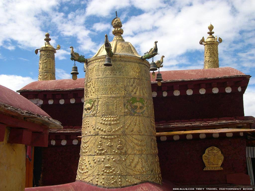 布达拉宫/布达拉宫Tibet Potala Palace...